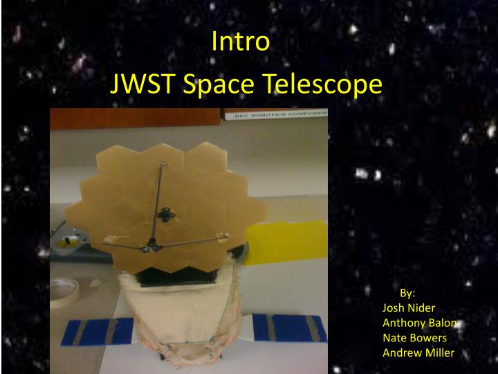 JWST Space Telescope