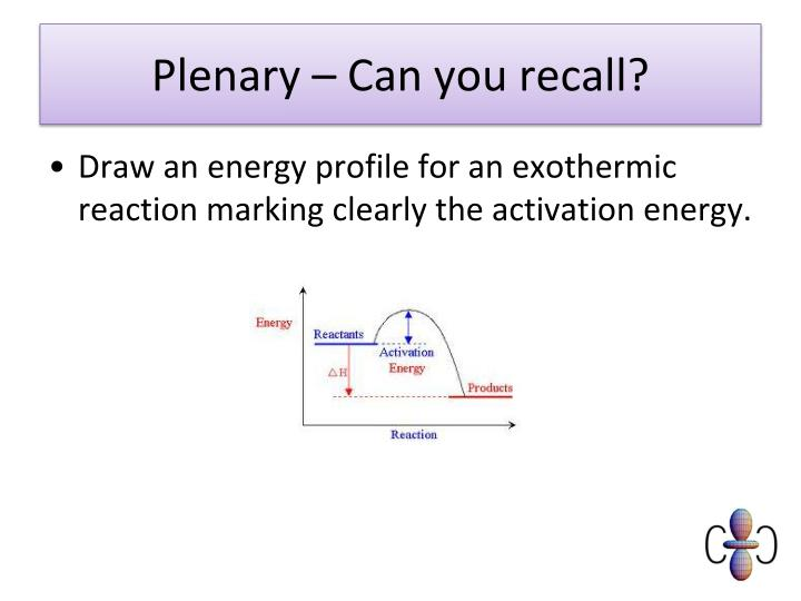 Plenary – Can you recall?