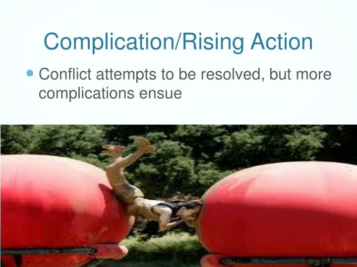 Complication/Rising Action