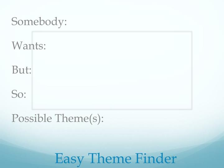 Easy Theme Finder