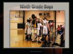 ninth grade boys1
