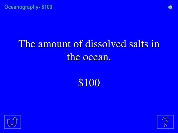 Oceanography-