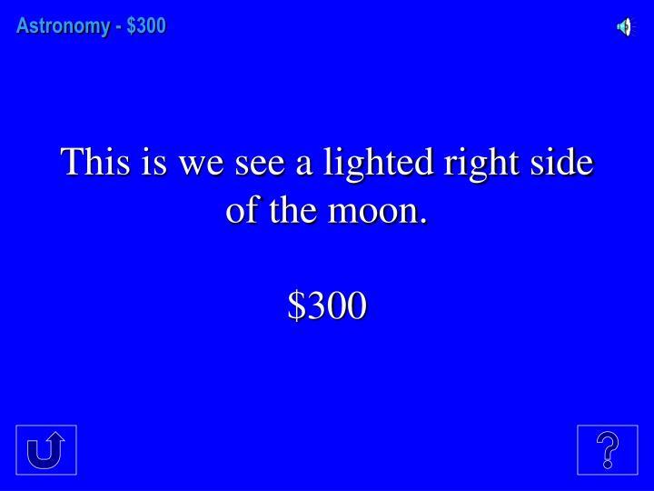 Astronomy -