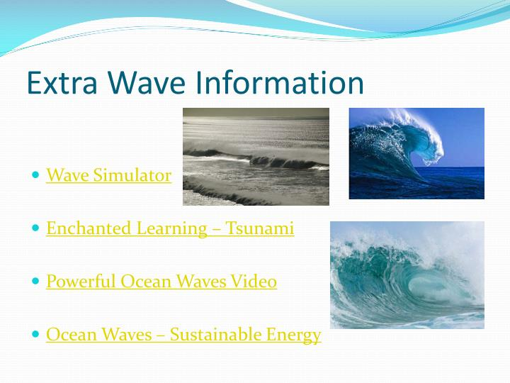 Extra Wave Information