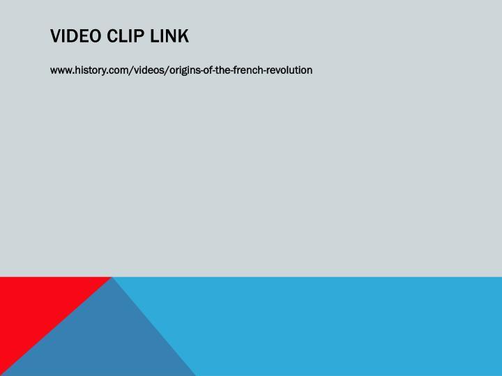 Video clip link