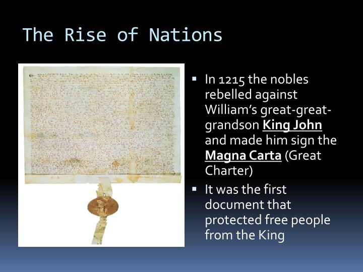 The Rise of Nations