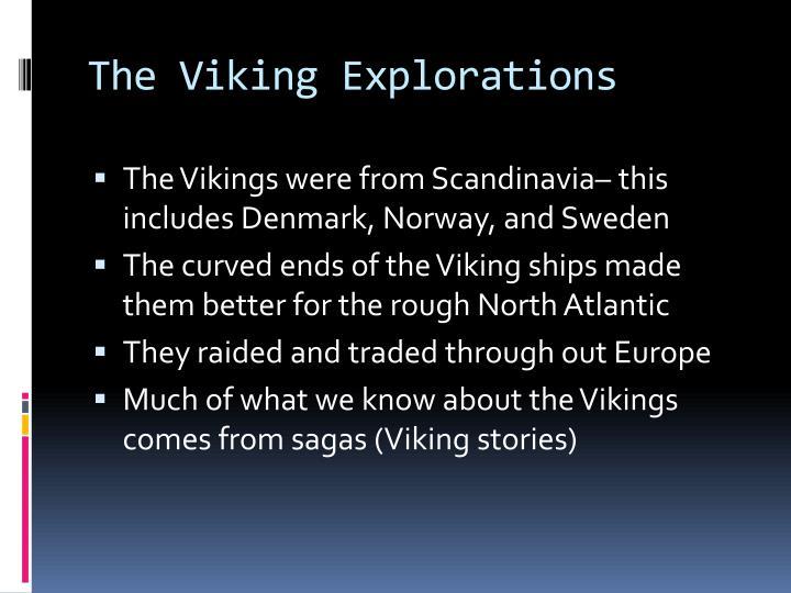 The Viking Explorations