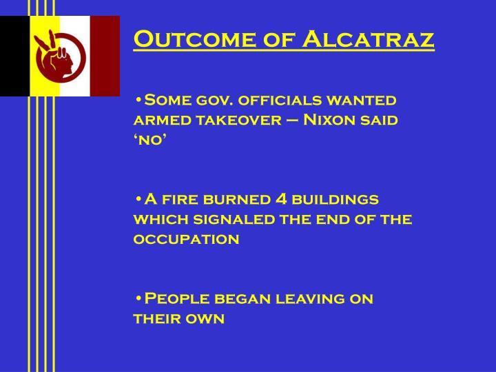 Outcome of Alcatraz