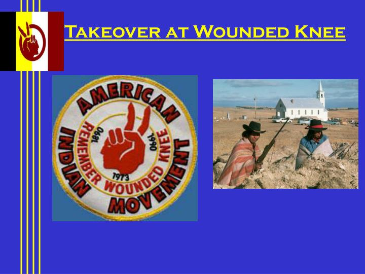 Takeover at Wounded Knee