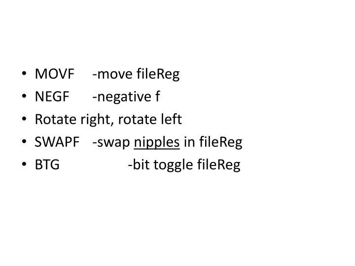 MOVF-move