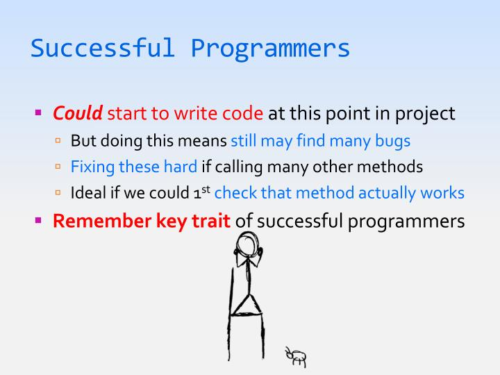 Successful Programmers