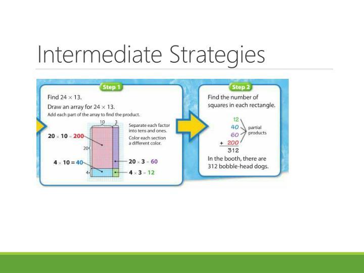 Intermediate Strategies