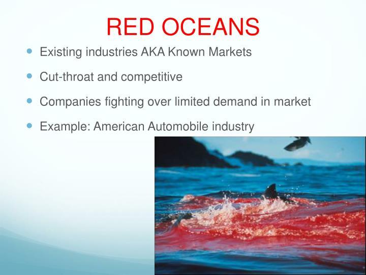RED OCEANS