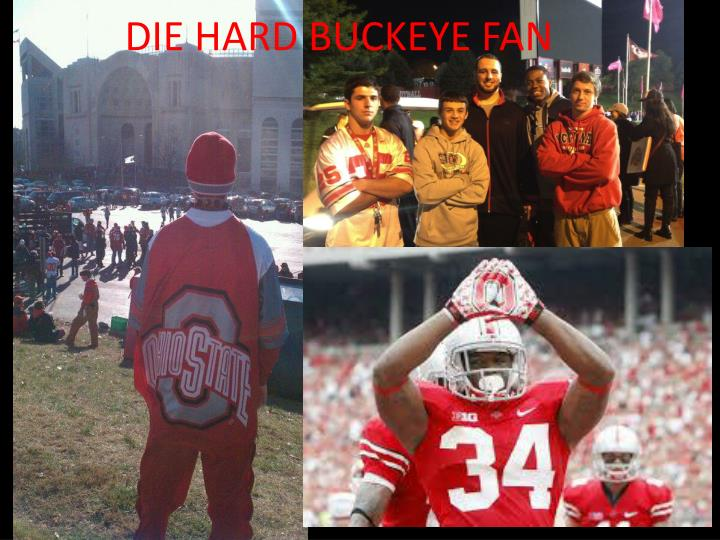DIE HARD BUCKEYE FAN