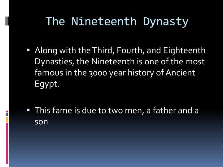 The Nineteenth Dynasty