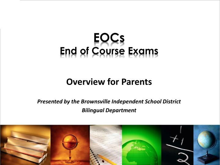 Eocs end of course exams