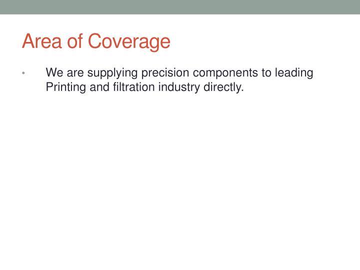 Area of Coverage