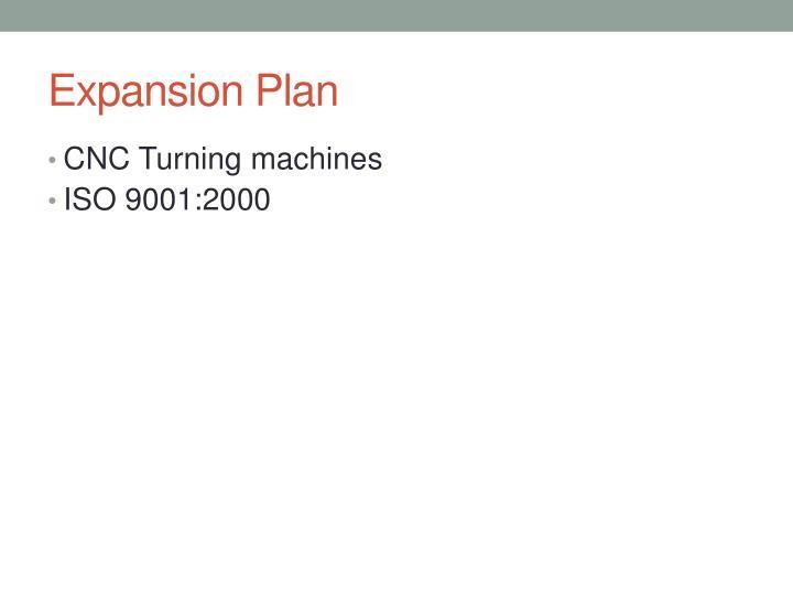 Expansion Plan