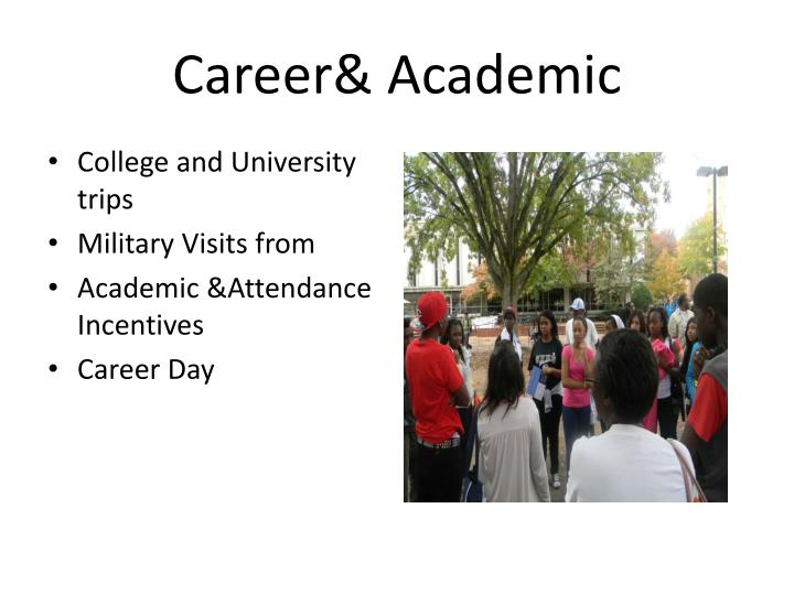 Career& Academic