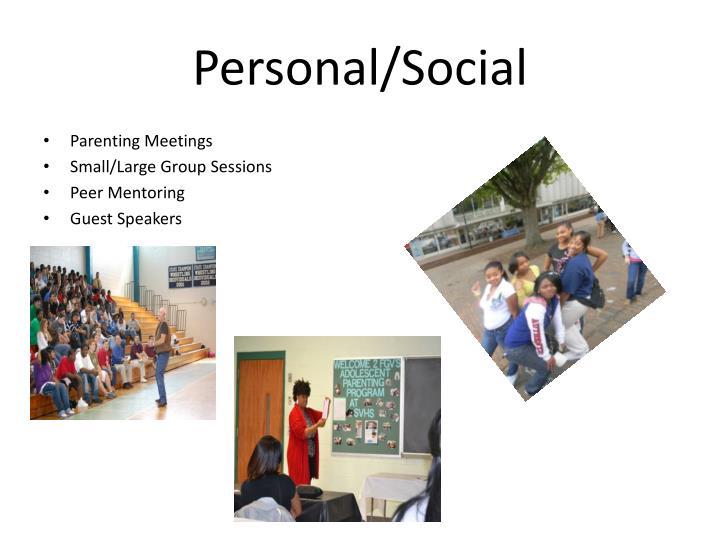 Personal/Social