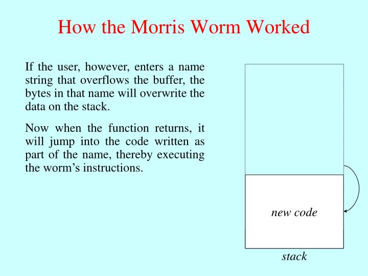 Storage for local variables in Unix is provided by a stack, which grows toward low memory addresses as functions are called.