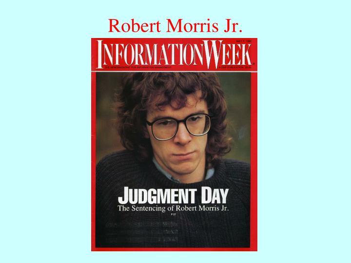 Robert Morris Jr.