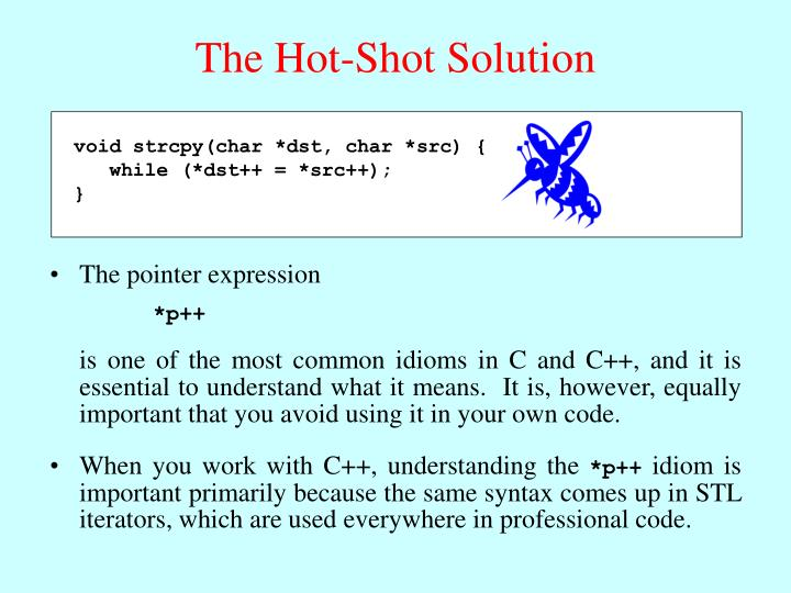 The Hot-Shot Solution