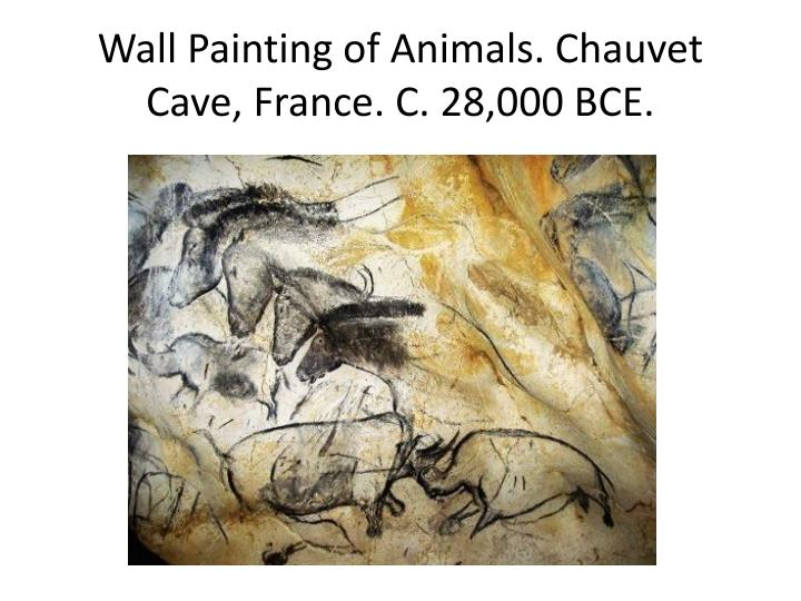 Wall Painting of Animals.