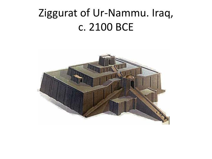 Ziggurat of Ur-