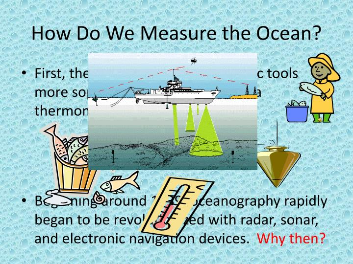 How Do We Measure the Ocean?