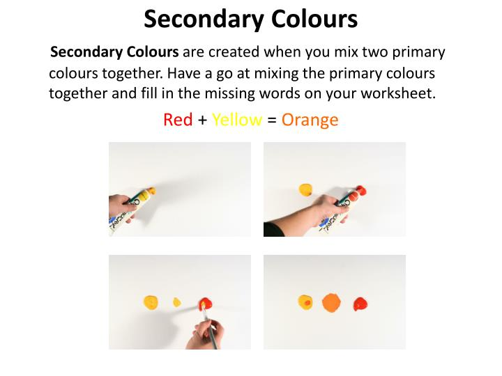 Secondary Colours