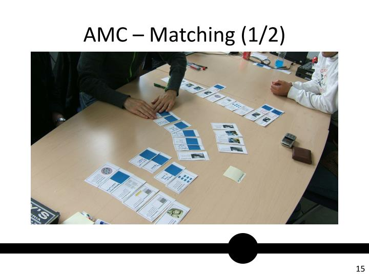 AMC – Matching (1/2)