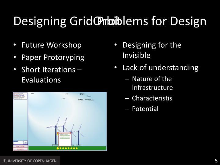 Designing GridOrbit