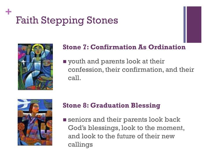 Stone 7: Confirmation As Ordination