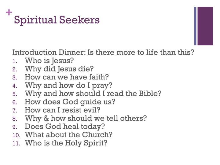 Spiritual Seekers