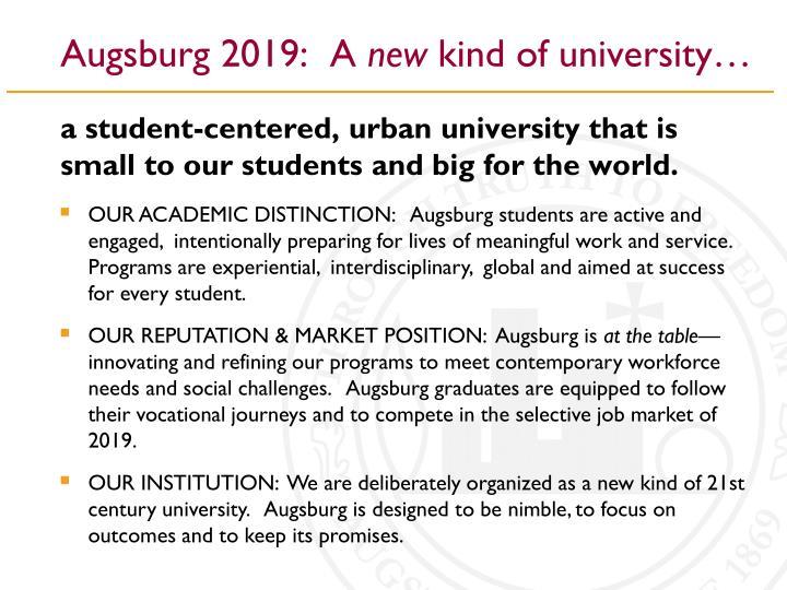 Augsburg 2019:  A