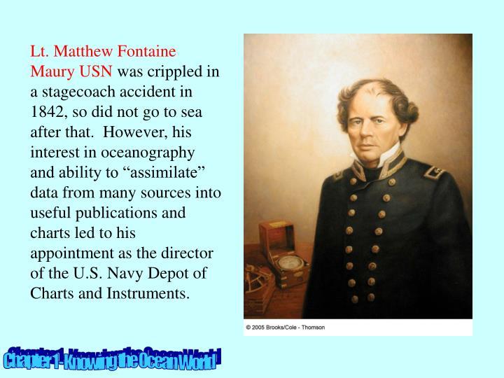 Lt. Matthew Fontaine Maury USN