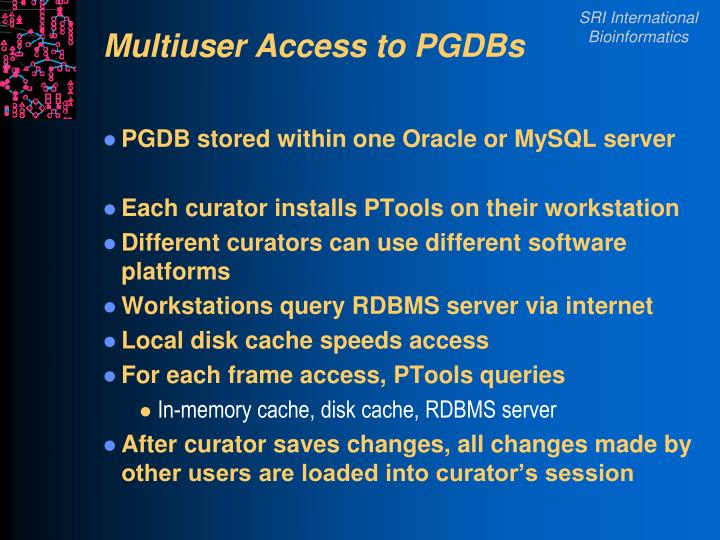Multiuser Access to PGDBs