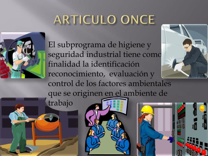 ARTICULO ONCE