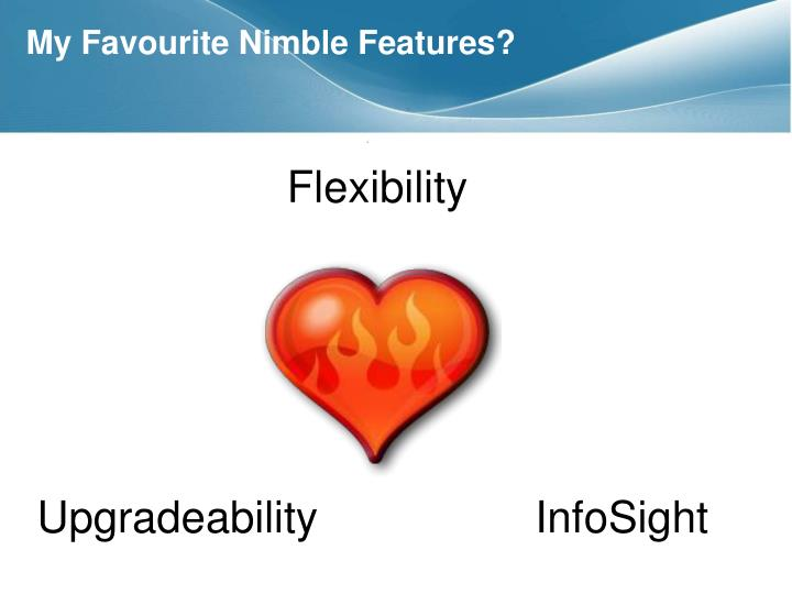 My Favourite Nimble Features?