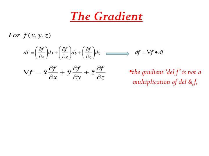 The Gradient