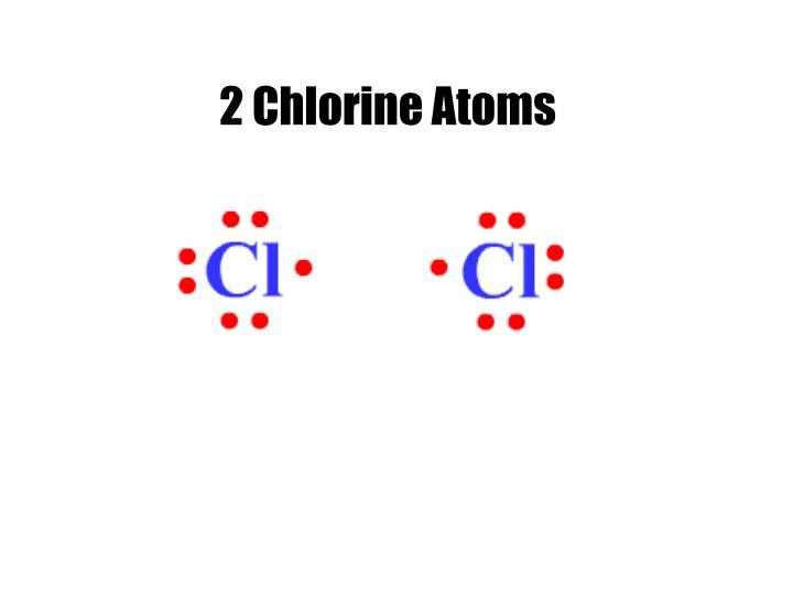 2 Chlorine Atoms