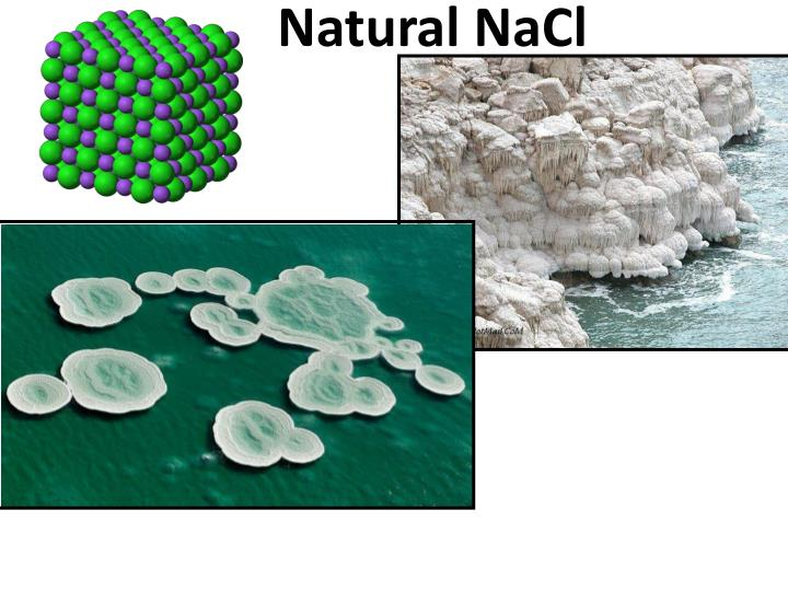 Natural NaCl