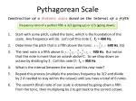 pythagorean scale1