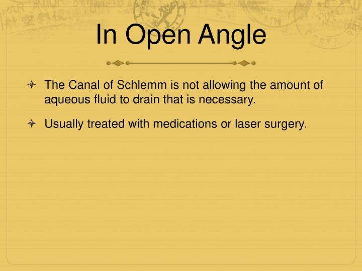 In Open Angle