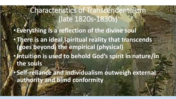 Characteristics of Transcendentalism