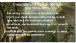 characteristics of transcendentalism late 1820s 1830s