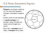 9 2 plane geometric figures