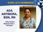 sona 2010 nominees4