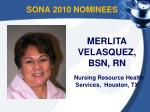 sona 2010 nominees5